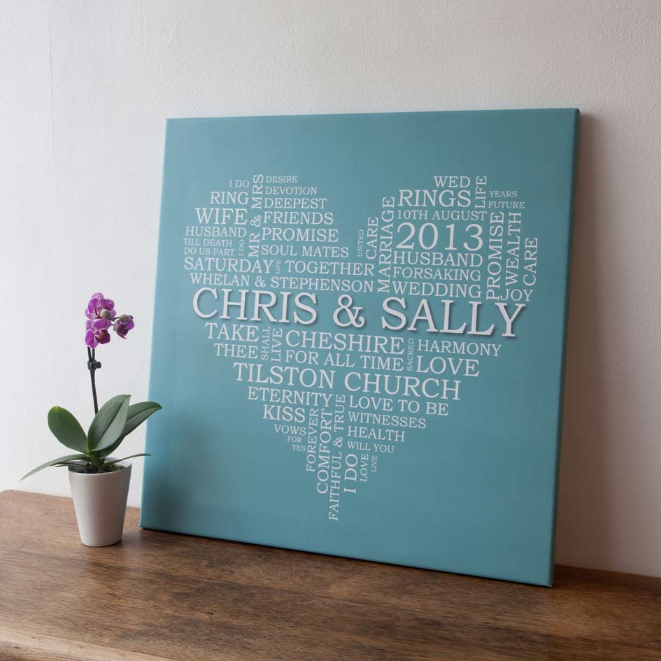 Personalised Wedding Gift Ideas Uk : Unique Gifts For Friends/guest Who Dottie From Modern KiddoHome ...
